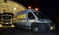Contact IAE to arrange a Field Service visit for your transport company