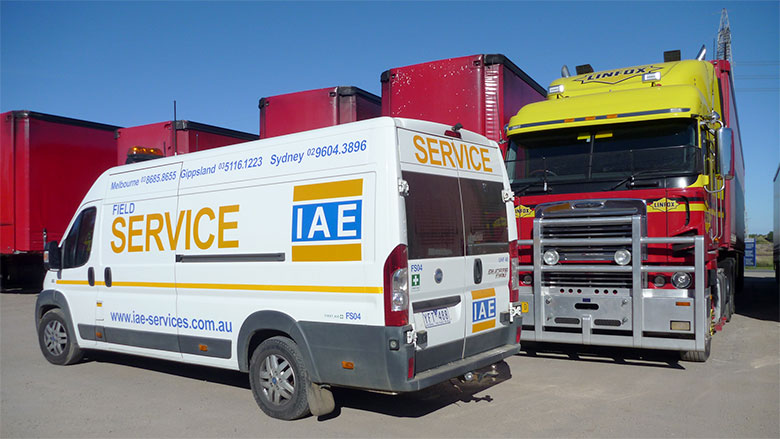 IAE Field Services Van